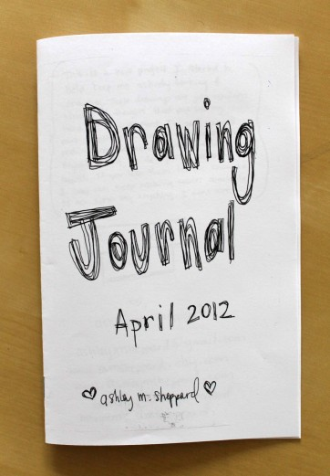 Drawing Journal, April 2012